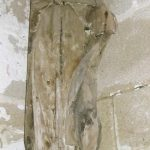 Statue de bois