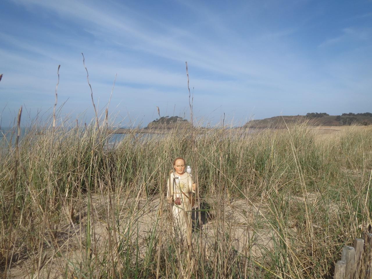 Saint Colomban sur la plage du Guesclin