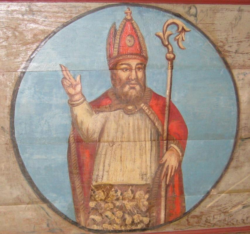 Peinture de Saint Colomban
