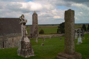 Un monastère celtique d'Irlande