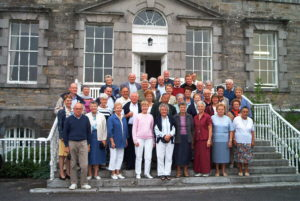 Pèlerins colombanais à Navan