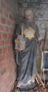 Statue Saint Colomban de Binic