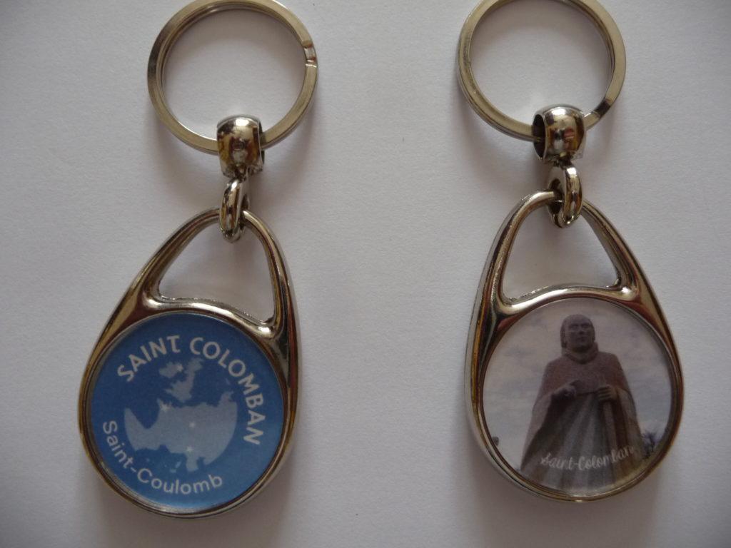 porte cle saint Colomban de la Vallée des Saints